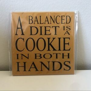 Bundle Add On - Novelty Magnet Quote Cookie Diet